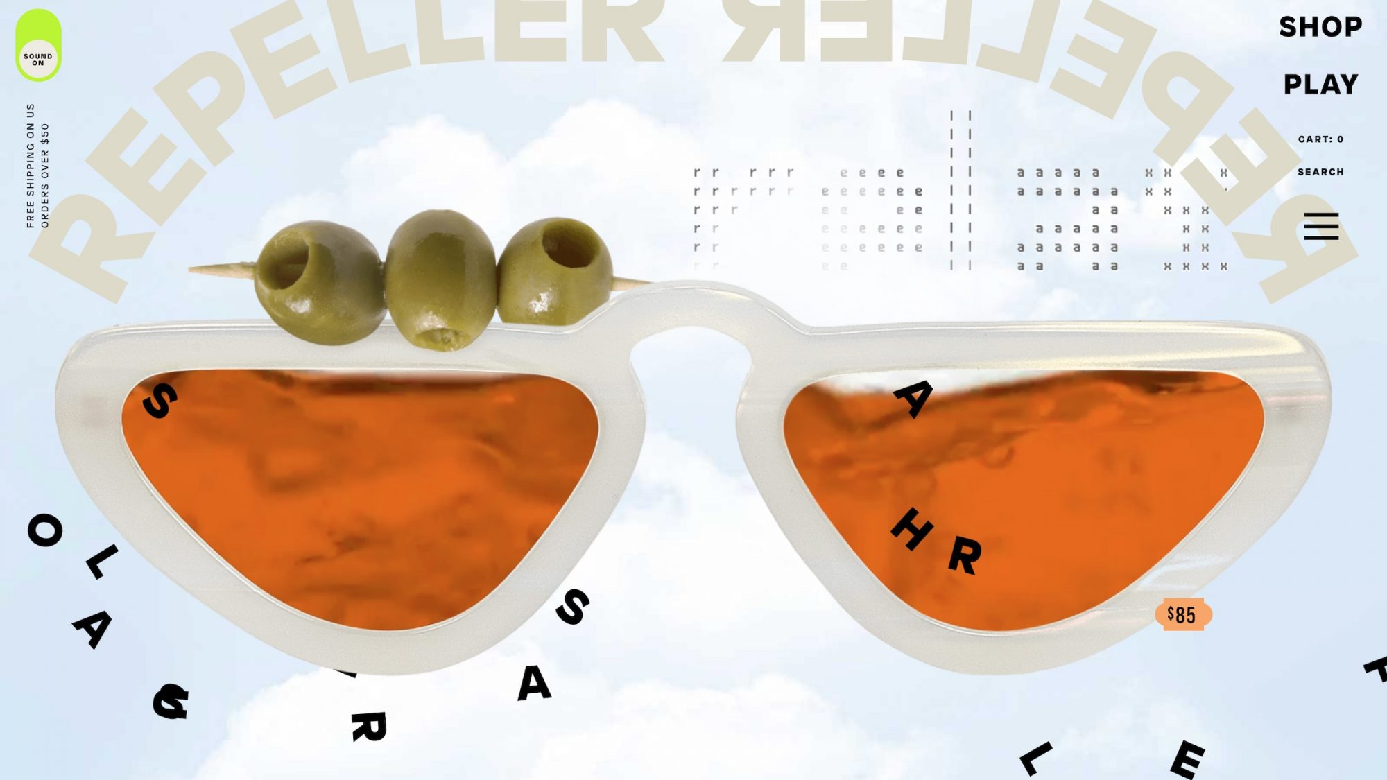 Man Repeller Shop sunglasses