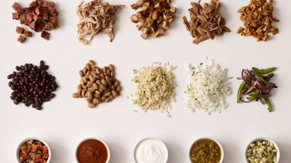 Chipotle ingredients