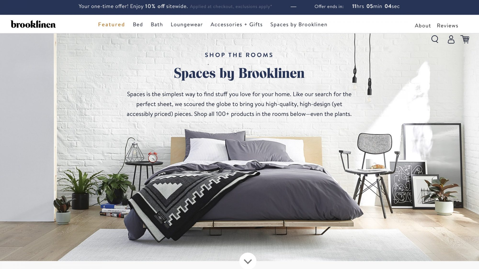 Spaces by Brooklinen