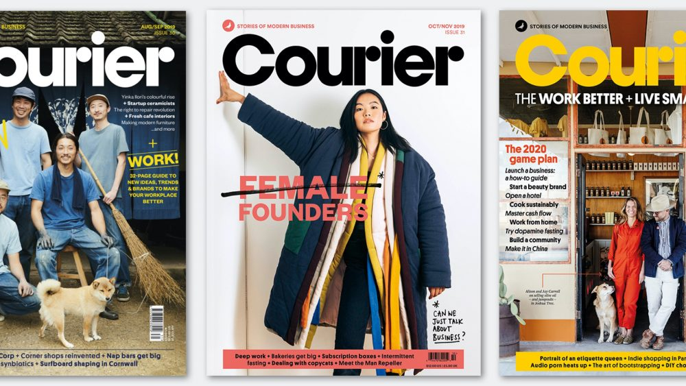 Courier magazine covers