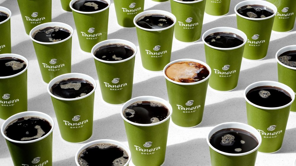 Panera coffee cups