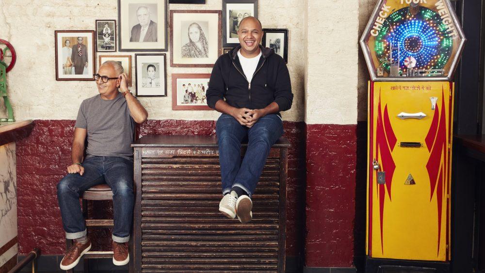 Dishoom founders Shamil and Kavi Thakrar