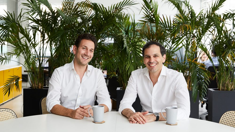 Coefficient Capital founders Andrew Goletka and Franklin Isacson