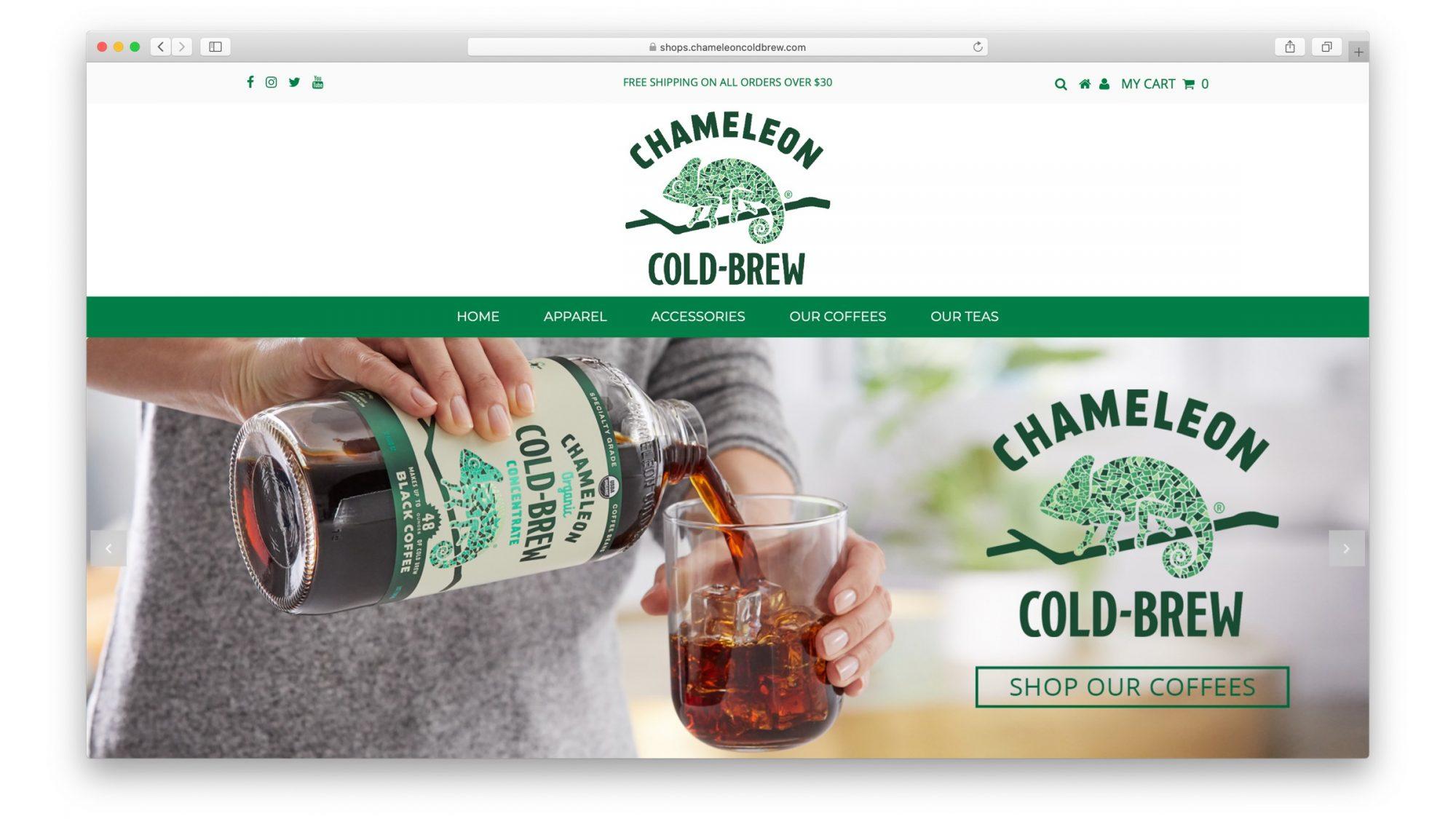 Chameleon Cold Brew DTC