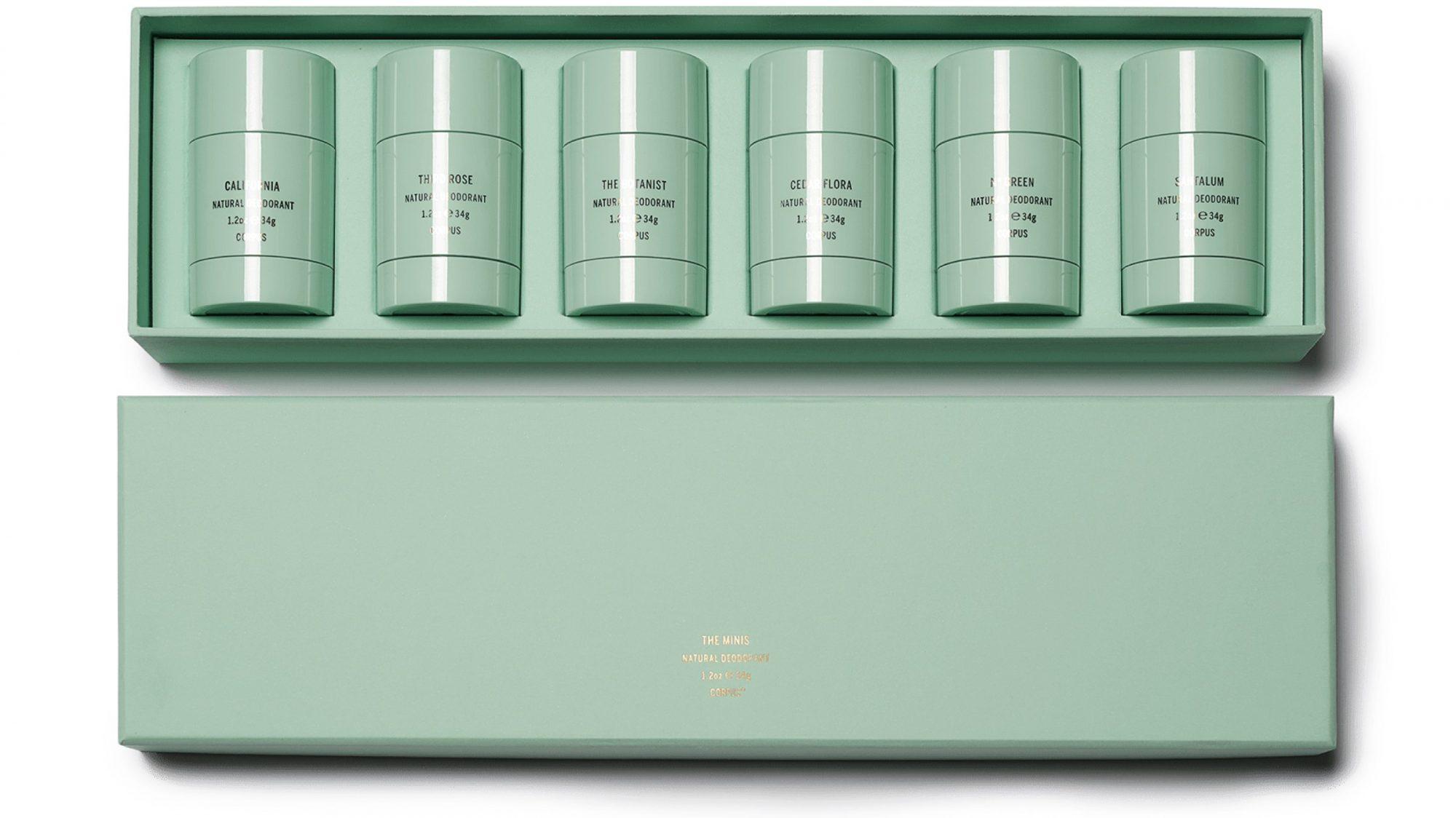 Corpus Naturals tiny deodorants