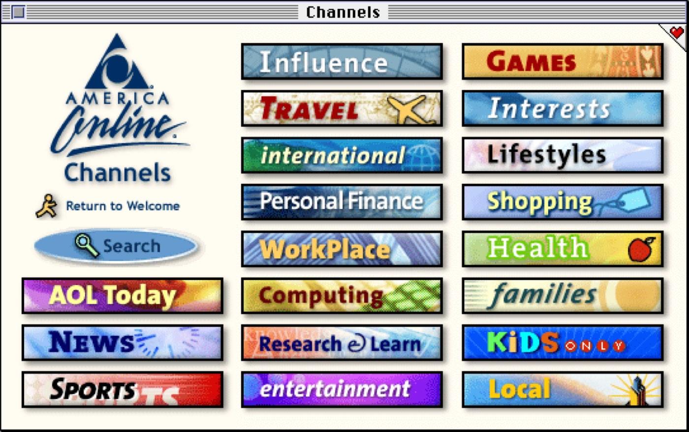 AOL Channels