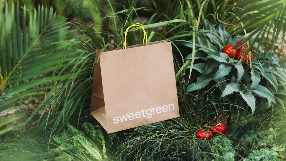 Sweetgreen bag