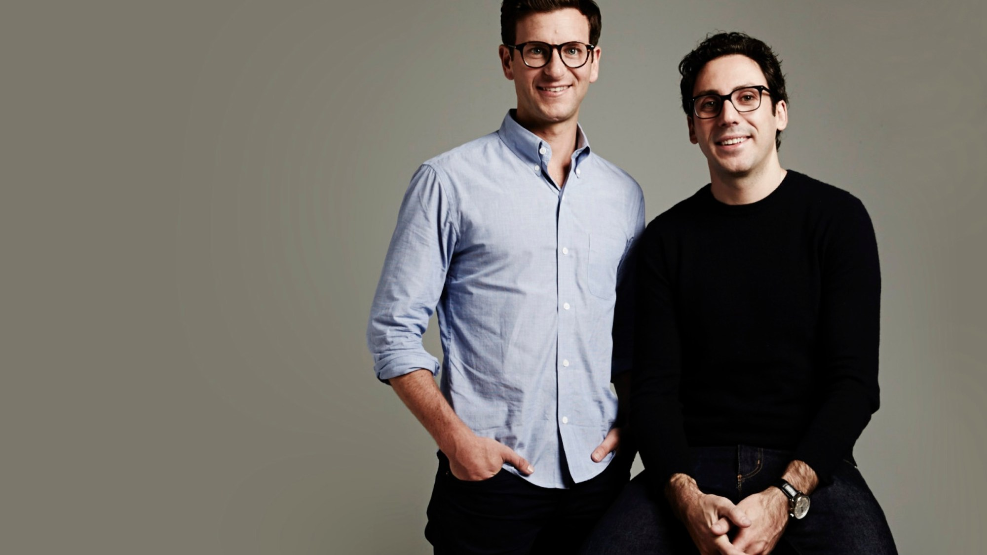 Warby Parker co-CEOs Dave Gilboa and Neil Blumenthal